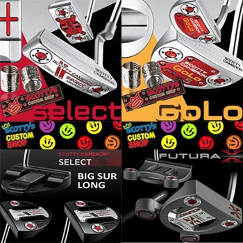 Scotty Cameron Custom Putters