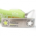 Scotty Cameron Newport 2 Lime/White Custom Putter