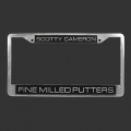 Scotty Cameron Creations License Plate Frame
