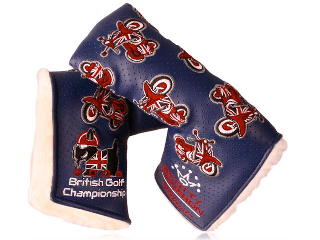 2009 British Golf Championship Headcovers