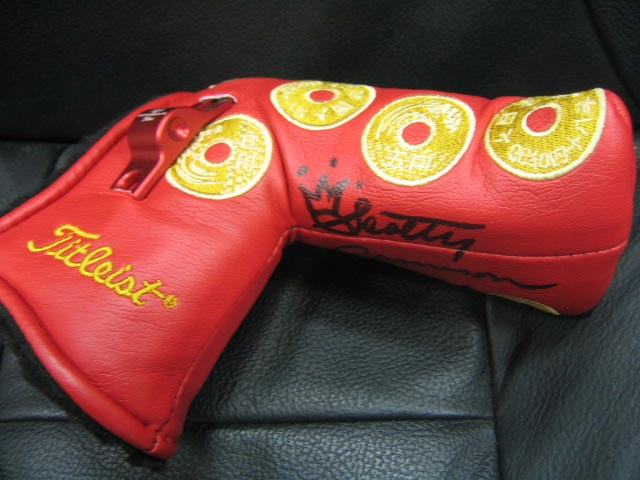 5YEN Headcover with Autograph Headcovers