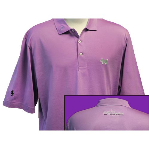 Scotty Cameron 2010 Ralph Lauren Mystic Lavender Polo Shirts