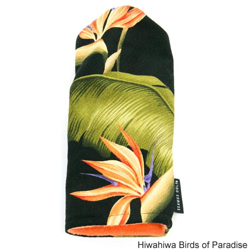 Seamus Golf Hawaiian Wood Headcover Set