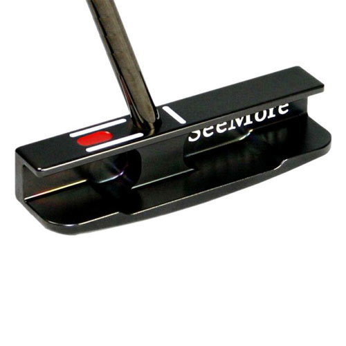 SeeMore Black Gunmetal mFGP CS Belly Putters