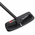 SeeMore Original Series Pure Center Blade Black Putter