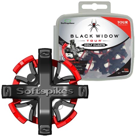 Softspikes Black Widow Tour Small Metal Insert Cleats