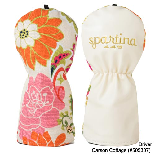 Spartina449 Ladies Carson Cottage & Heyward Head Covers - Click Image to Close