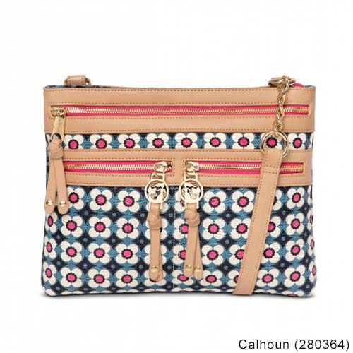 Spartina449 Ladies Zipper Hipster Bag