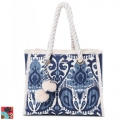 Spartina449 Ladies Boho Beach Tote Bag