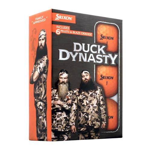 スリクソン Duck Dynasty 6 Pack Golf Balls