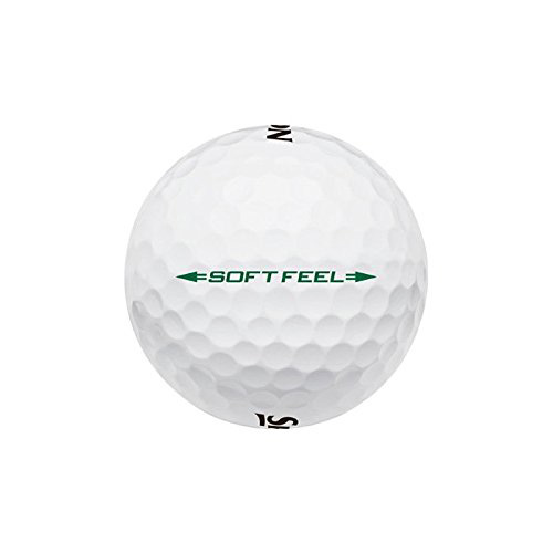 Srixon 2016 Soft Feel Soft White Golf Balls