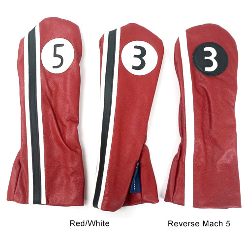 Stitch Golf Racer Leather Headcovers