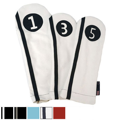 Stitch Golf Racer Collection Leather Headcover Sets