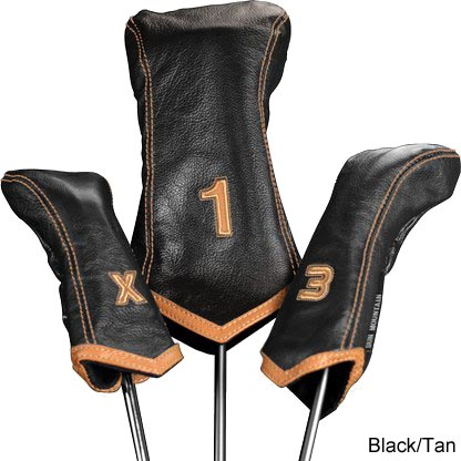 Sun Mountain Leather Headcover Chevron Sets