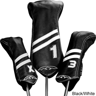 Sun Mountain Leather Headcover Stripe Sets