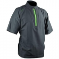 Sun Mountain Brushed Solo Windshirt Short-Sleeve Pullover