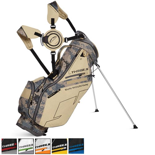 Sun Mountain 2015 Three 5 Stand Bags