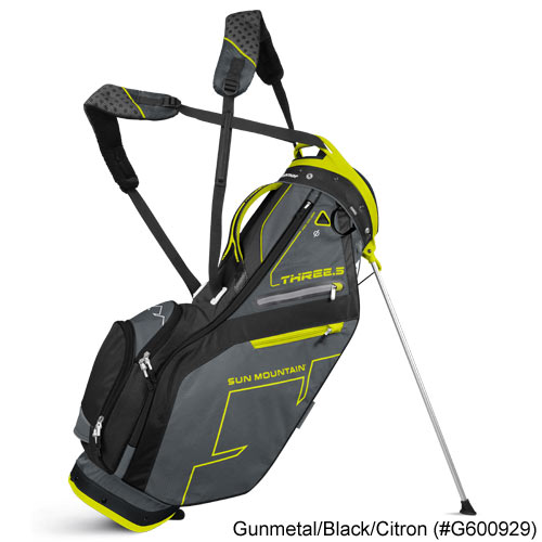 Sun Mountain 2016 Three 5 Zero Gravity Stand Bags
