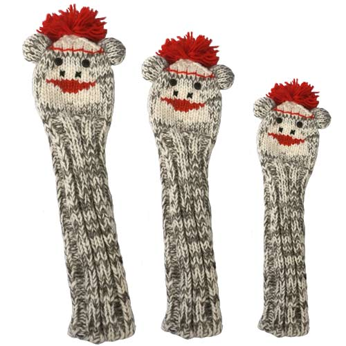 Sunfish Animal Headcover Collection Sock Monkey Headcovers