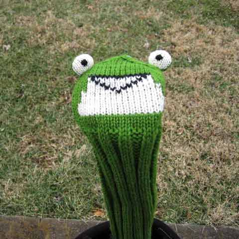 Sunfish Animal Headcover Collection Frog Headcovers