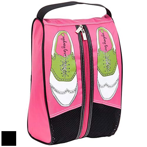Sydney Love Ladies Pink Golf Shoe Bags