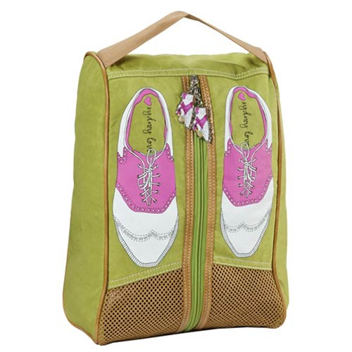 Sydney Love Ladies Green Golf Shoe Bags