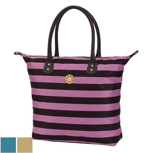 Sydney Love Ladies Colorful Stripe Large Tote Bags