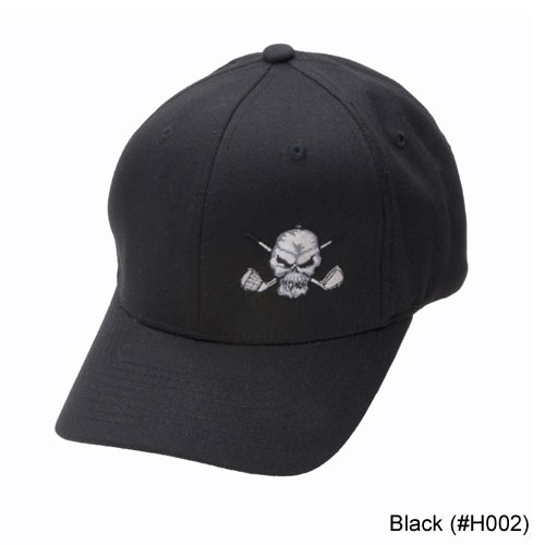 Tattoo Golf Small Skull FlexFit Hats
