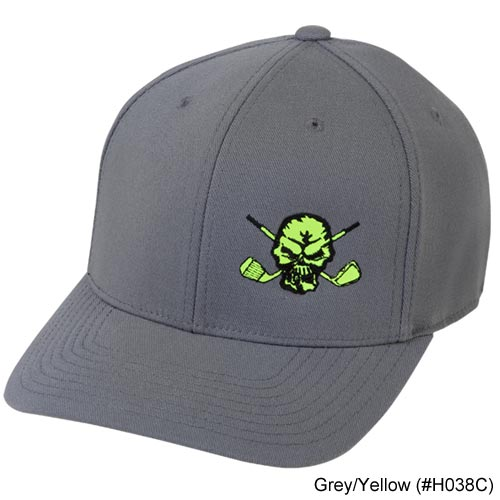 Tattoo Golf Lucky 13 Skull Golf Hat