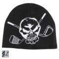 Tattoo Golf Short Knit Woven Skull Beanies