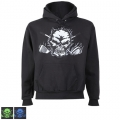 Tattoo Golf Big Skull Pullover Hoodie
