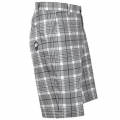 Tattoo Golf Plaid ProCool Golf Shorts