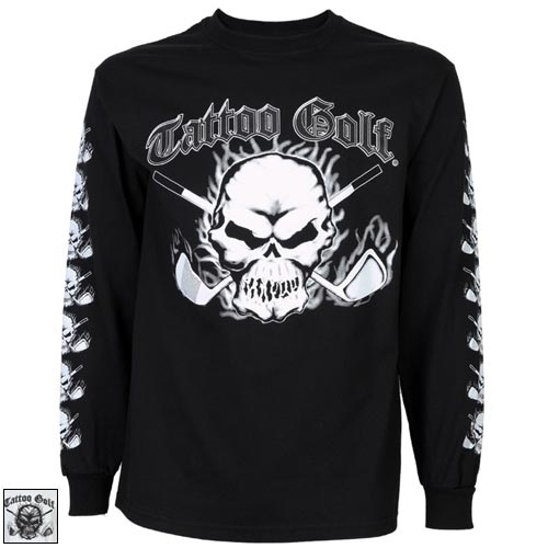 TattooGolf Long Sleeve T Shirts