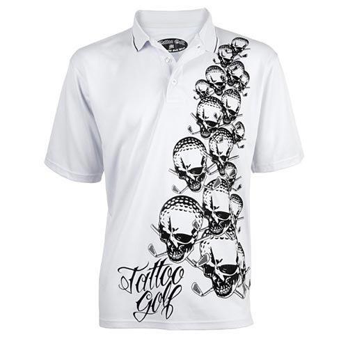 タトゥーゴルフ OB Poly-Dri Polo Shirts