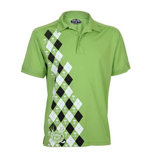 タトゥーゴルフ The Green Monster Performance Polo Shirts (#P031)