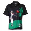 Tattoo Golf Pin High Performance Golf Shirts