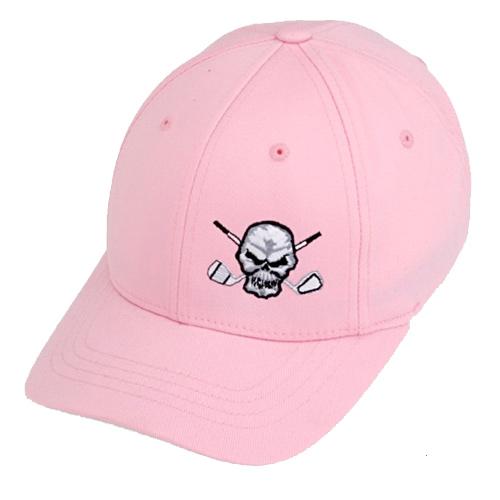 タトゥーゴルフ Small Skull Design Golf Hats (#JH080)