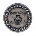 Tattoo Golf The Bling Black Nickle Ball Markers (#A002-BG)