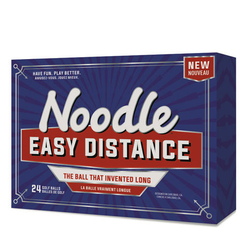 TaylorMade Noodle Easy Distance Golf Balls (24 ball pack)