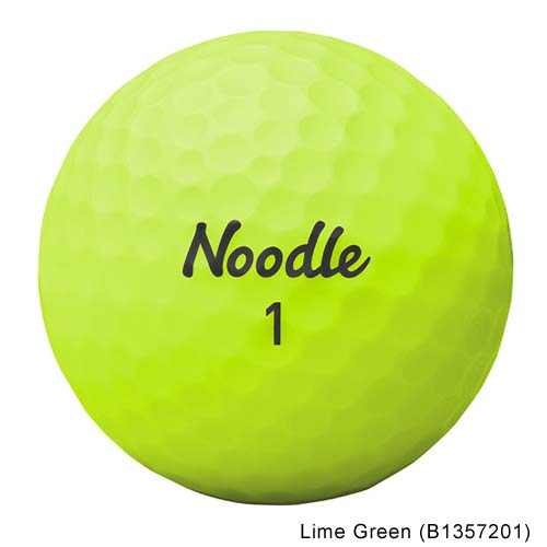 TaylorMade Noodle Neon Matte Golf Balls