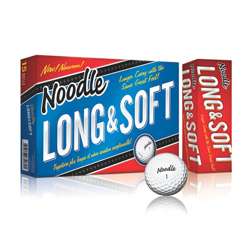 TaylorMade Noodle Long & Soft Golf Balls
