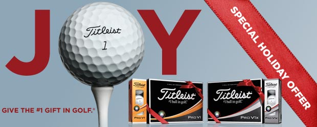 Titleist 2018 Pro V1 Special Holiday Offer