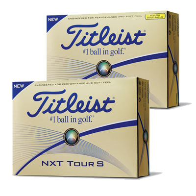 Titleist NXT Tour S Golf Balls