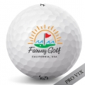Titleist Pro V1x Sun & Wave California Logo