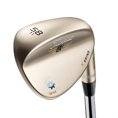 Titleist Vokey SM5 Gold Nickel Wedges
