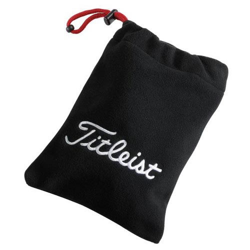 タイトリスト Fleece Valuables Pouch (#TA1ACFVP-0)