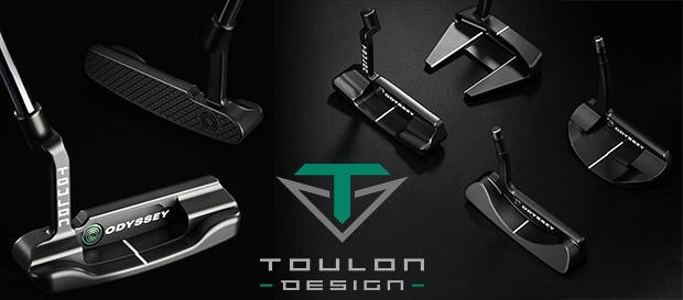Toulon Design 2019 Steel Shaft Putters