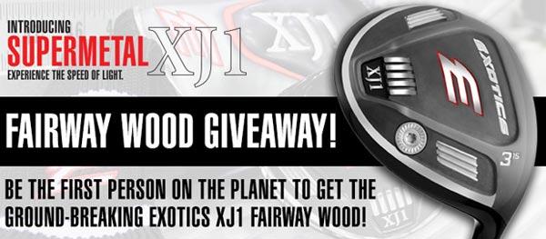 Tour Edge Exotics XJ1 Fairway Wood