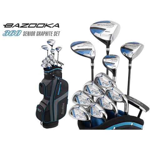 Tour Edge Bazooka 360 Senior Graphite Set