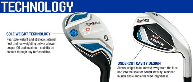 Tour Edge Hot Launch Combo